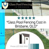 plexiglass pool fence cost