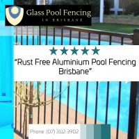 glass pool fencing cost per metre