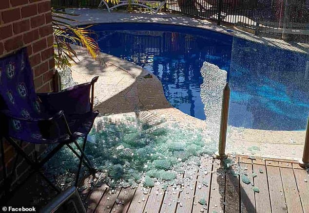 Brisbane Glass Pool Fence EXPLODES