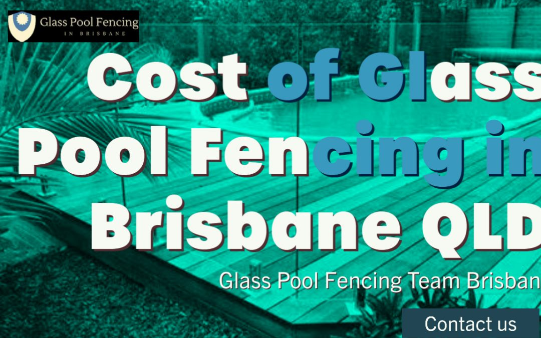 frameless glass pool fencing cost per metre