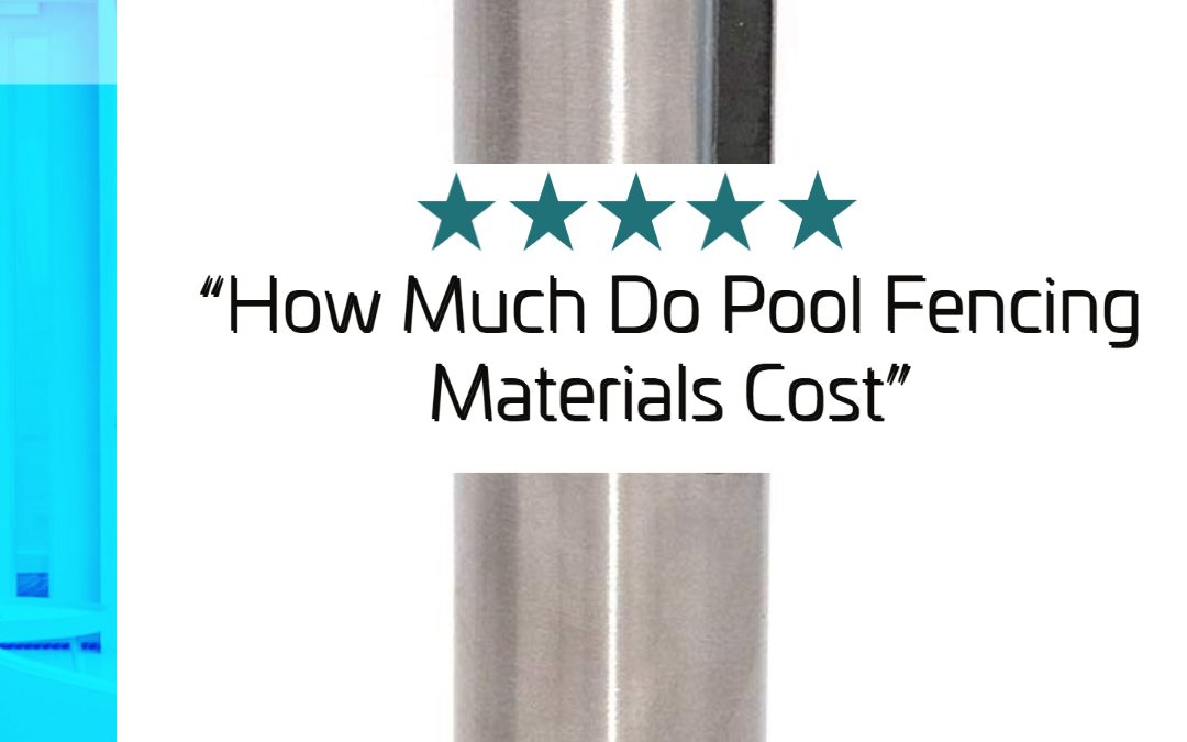 cost of frameless glass pool fencing